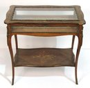 French Vitrine Table