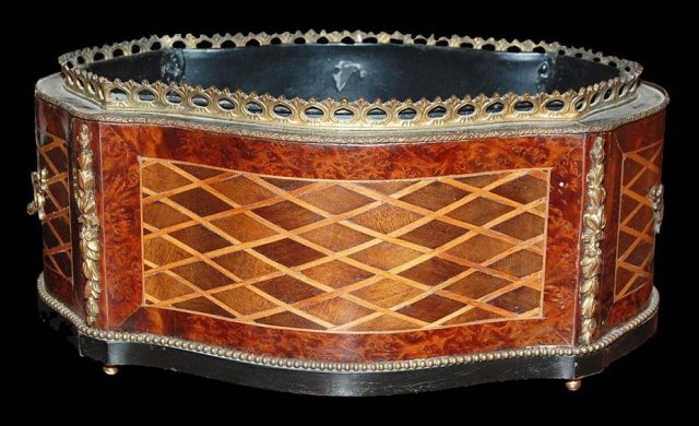 French Inlaid Jardiniere