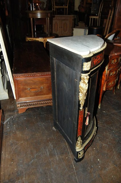 French Boulle Corner Cabinet
