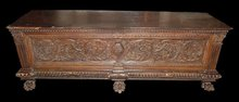 Carved French Cassone