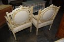 Painted French Louis XVI Chairs