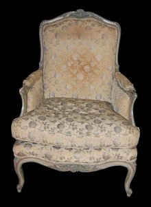 French Painted Bergere