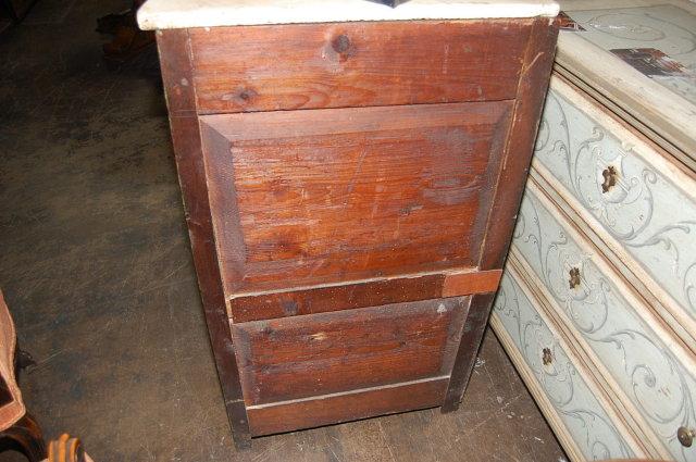 Decorative Painted Corner Cabinet