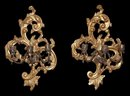 Pair Giltwood Sconce