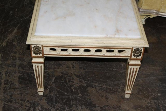 French High-Style Coffee Table