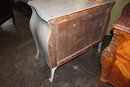 Painted French Commode Bureau