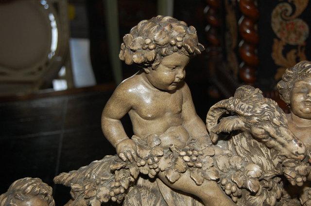 19th Century French Terra Cotta Sculpture