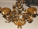 French Metal & Tole Sconce