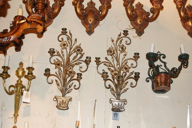 Early Italian Wall Sconce