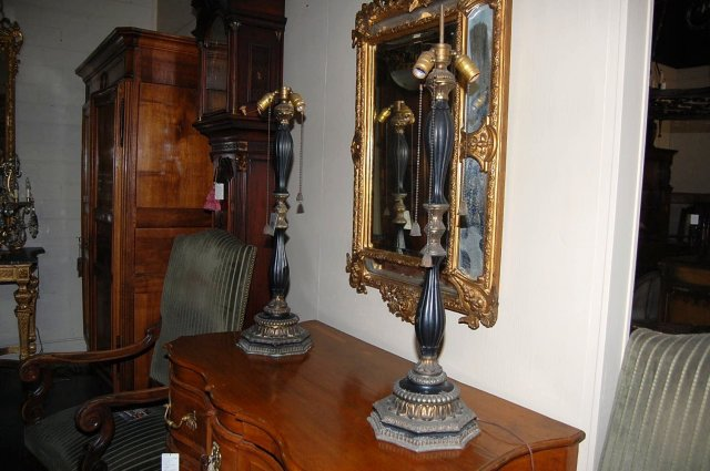 Pair of Continental Lamps
