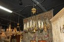 Empire 15 Light Bronze Chandelier