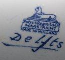 Set of 5 Blue Delfts Ginger Jars