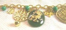 Vintage Dragon Charm Bracelet