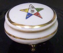 Masonic/Order of the Eastern Star Porcelain Box