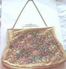 Vintage Petitpoint Handbag