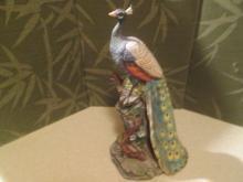 Peacock Statuette