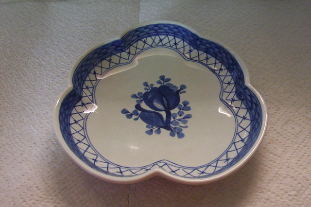 Royal Copenhagen Faience Dish