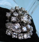 DIAMOND RING 5+ CARATS APPRAISED $12k MAJOR FLASH