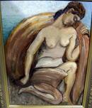 CARROLL, John (1892-1959) WELL LISTED NUDE WOMAN