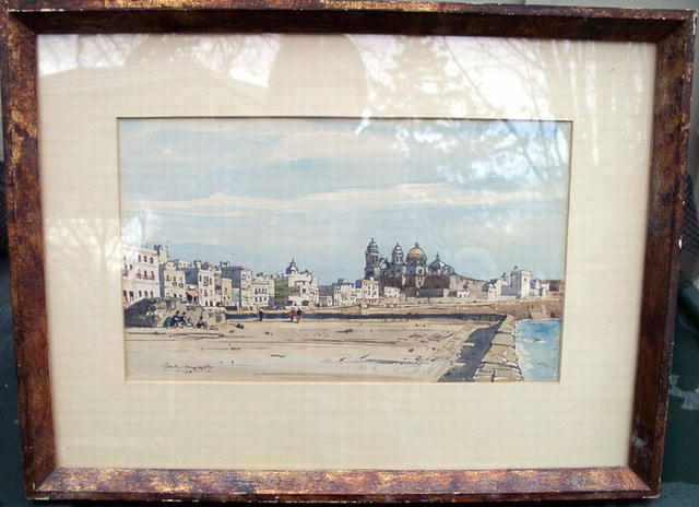 WATERCOLOR MUNCASTER, Claude WELL LISTED