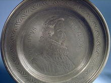 PHILLIPVS DE GROY EARLY 1700s PEWTER PLATE EXCELLENT
