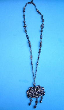 PERUZZI BOSTON STUNNING NECKLACE STERLING HANDMADE