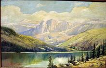 FRANK LEWIS VAN NESS (1866-?) OIL PAINTING CALIFORNIA