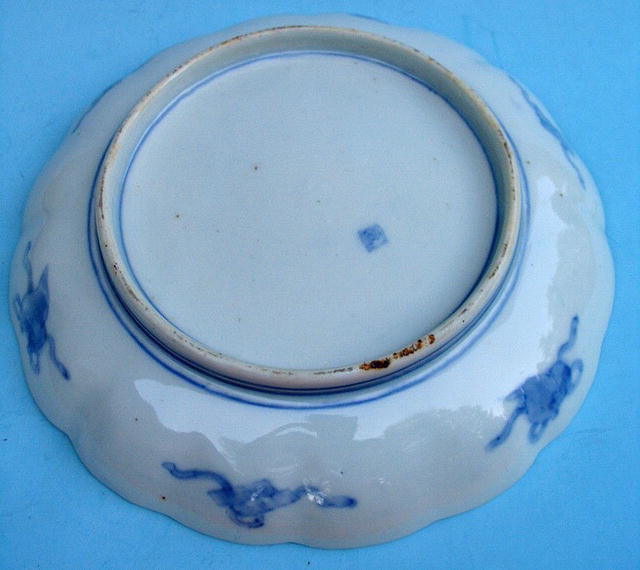 QUALITY ARITA / IMARI BOWL WITH FUKU MARK 18th / 19th C