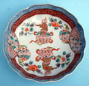 FABULOUS 18th/19th C IMARI / ARITA RUFFLED BOWL GREAT