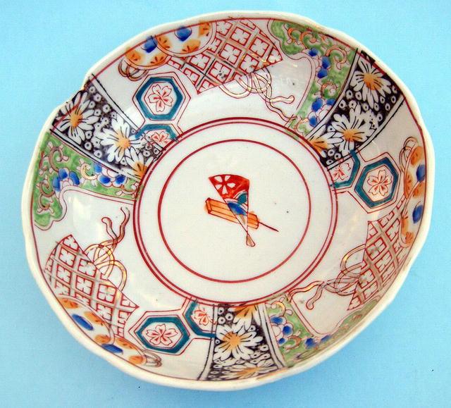 EARLY JAPANESE IMARI / ARITA BOWL 18TH / 19TH CENTURY