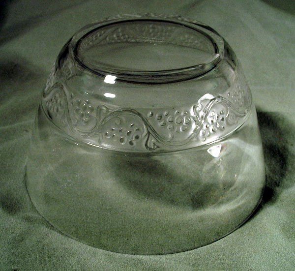 LALIQUE SIGNED DECO FROSTED BOWL