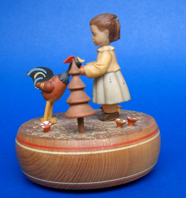 Anri Switzerland Children Thorens Music Box