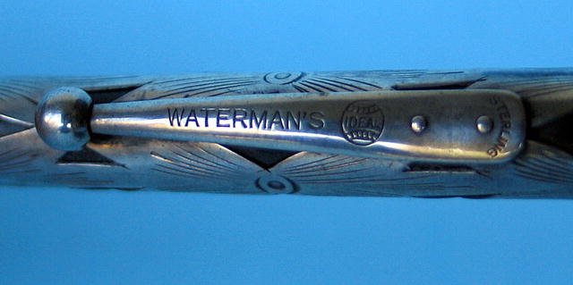 WATERMAN STERLING OVERLAY IDEAL MECHANICAL PENCIL HARD