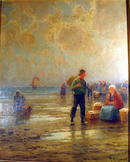 GABRIEL, H.M. (XIX-XX) LISTED ARTIST DUTCH OIL / BOARD