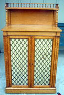 IMPORTANT SATINWOOD REGENCY CHIFFONIER ORIGINAL NICE