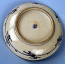 UNUSUAL JAPANESE EDO / MEIJI KO IMARI / KUTANI LOW BOWL