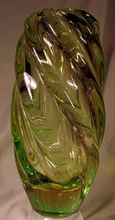 HUGE VENINI STYLE WATERFALL VASE MURANO