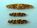 KREMENTZ ART NOUVEAU 14K GOLD BEAUTY PINS (3)
