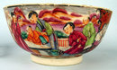 18TH c CHINESE FAMILLE ROSE EXPORT BOWL GREAT ENAMELS