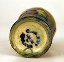 Fine Moorcroft miniature baluster vase Pansy pattern