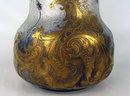 MONUMENTAL MONT JOYE CAMEO GLASS VASE VIOLETS ART NOUVEAU