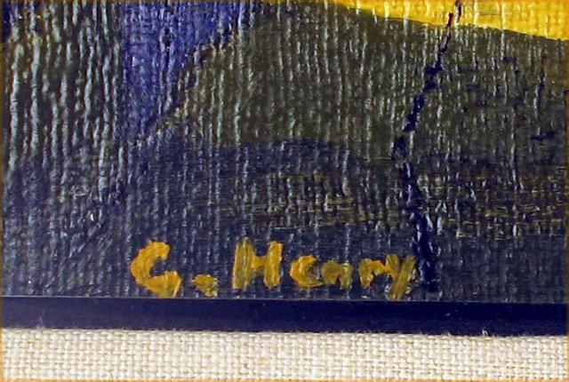 FINE OIL PAINTING LISTED KANSAS CITY ARTIST COAH HENRY