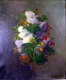 FINE STILL LIFE BY WELL LISTED NORWEGIAN ARTIST FRANCIS DIDIER BOE
