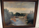 FINE REGIONALIST PAINTING WELL LISTED SWEDISH AMERICAN OLOF GRAFSTROM