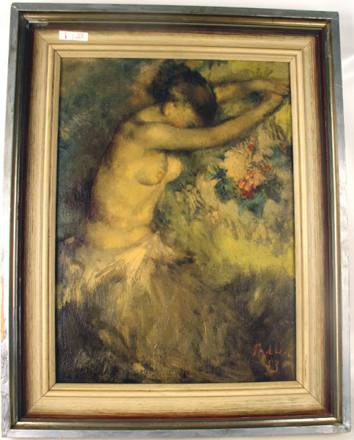 FINE GERMAN ART PRINT WELL LISTED  PAUL PADUA