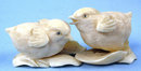 Spectacular Ivory Carving of Two Chicks Amazing Detail