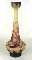 Loetz Richard Art Cameo Glass Vase French