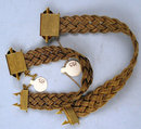 Excessively Rare Matched Victorian 14K Gold Mesh Bracelets