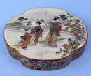 Quality Japanese Meiji Satsuma box signed Seikozan