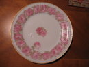 Haviland Limoges Lunch Plate-Drop Rose, Sch 55C